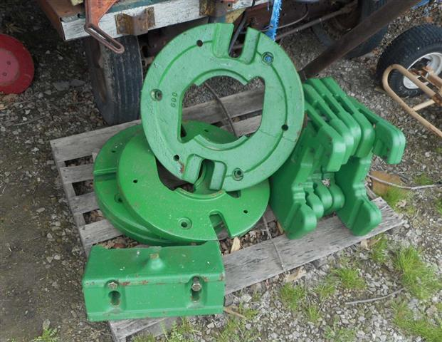 John Deere Tractor Counterweights : John deere weights for sale
