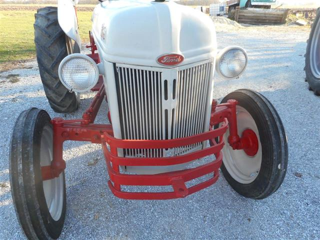 Ford 8n Tractor Front Tires : Ford n tractor for sale