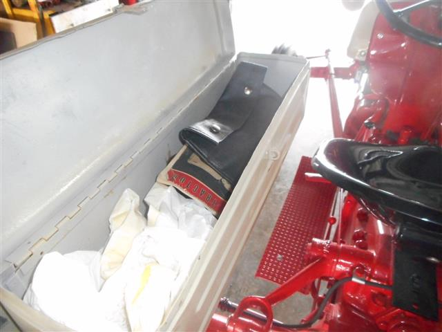 Tractor Fender Tool Box Mounted : Ford tractor for sale