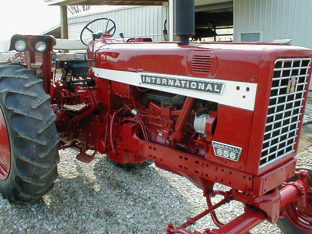 International 656 Tractor With Loader : Ih tractor wide front