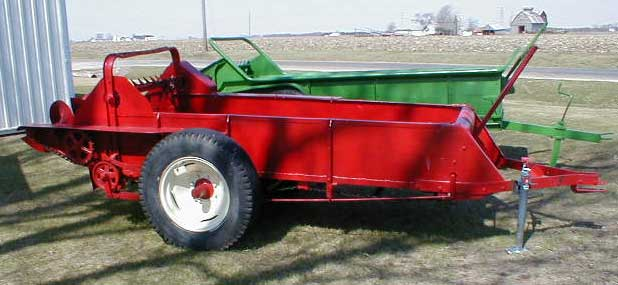 Farmall Manure Spreader : Ih manure spreader