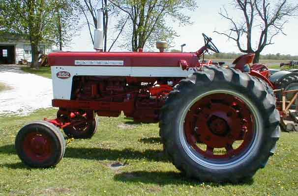 1961 farmall 560 wide front ps pto 3 point for sale