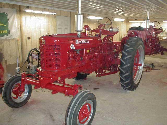 Restored 1955 Farmall Super Hta Tractor With Factor Wide