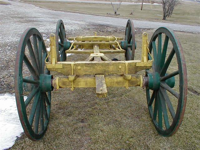 Wagon Gear With Wooden Wagon Wheels For Sale