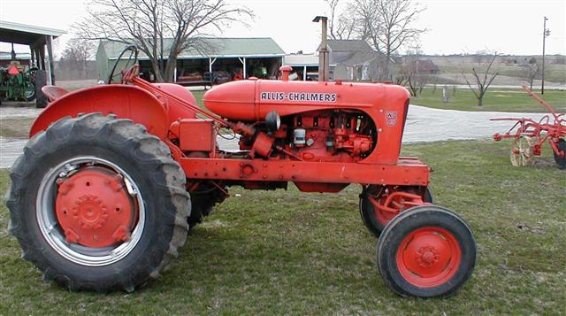 Ac Allis Chalmers Wd 45 Tractor For Sale