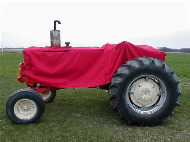 Red Tractor Plate Outlit : Tractor cover for allis chalmers sale