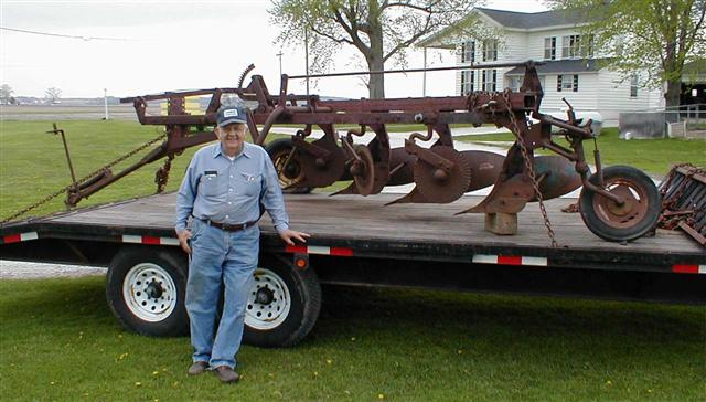 IH #70 4 bottom plow for sale