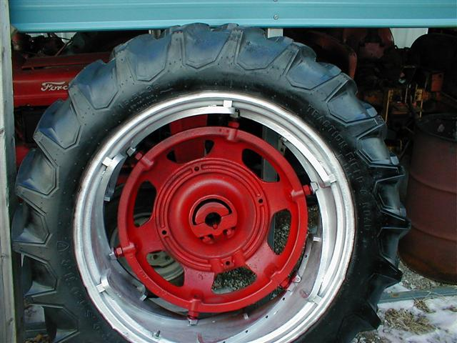 Used Wheels For Sale >> Farmall Spin Out rear rims and tires for sale