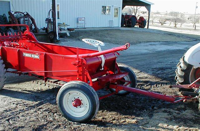 Ih Manure Spreader : Ih mccormick manure spreader for sale