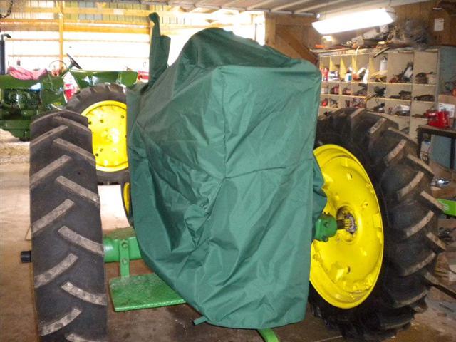 Deere Tractor Cover : Green tractor cover for john deere tractors sale