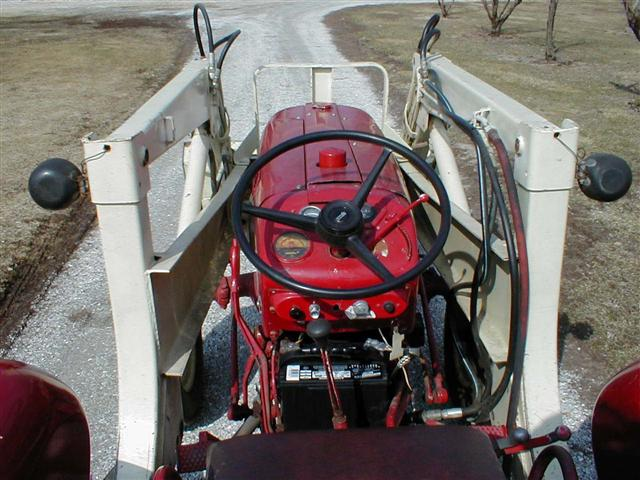 Rims And Tires For Trucks >> International Harvester Farmall 350 Utility Tractor with Model 2000U hydraulic loader for sale