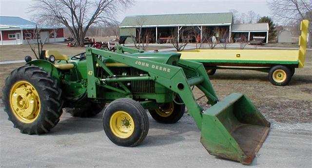 John Deere 2020 Jd Tractor With Model 47 Hydraulic Loader