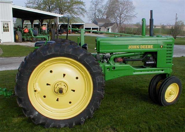 John Deere Tractor Split : John deere jd model b tractor for sale