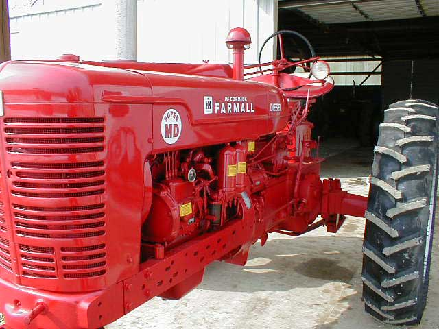 Restored 1954 Farmall Super Md For Sale