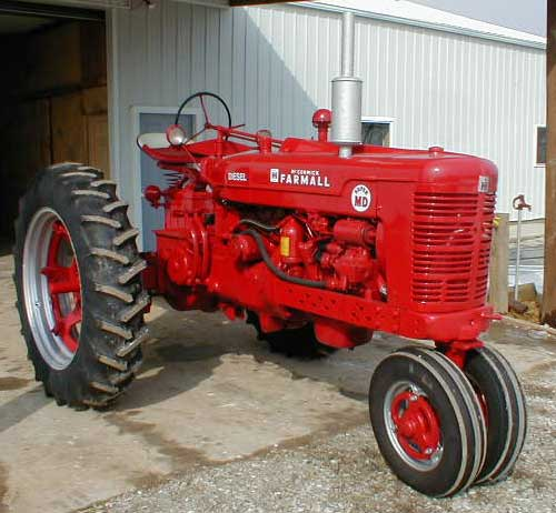 restored 1954 farmall super md for sale. Black Bedroom Furniture Sets. Home Design Ideas