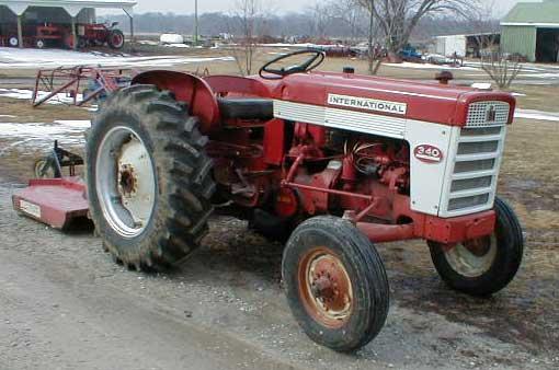 1960 International Tractor : Ih model utility