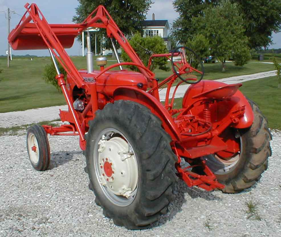 Widest Seat Tractors : Ac wd factory wide front with allis chalmers loader